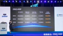 敢领上市 全新帝豪EV450补贴后终端售价13.58万元-15.58万元